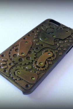 Стимпанк чехол для iPhone 6 №3